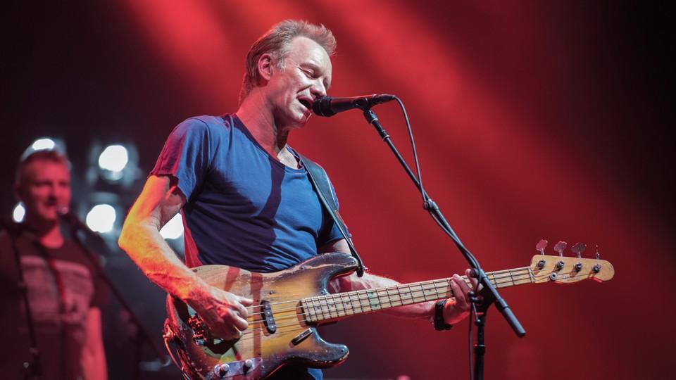 Sting - live i Paris
