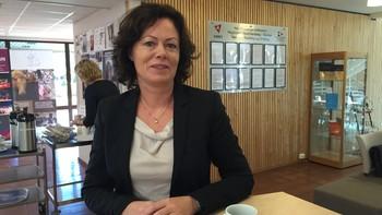 Integreringsminister Solveig Horne på besøk i Steinkjer