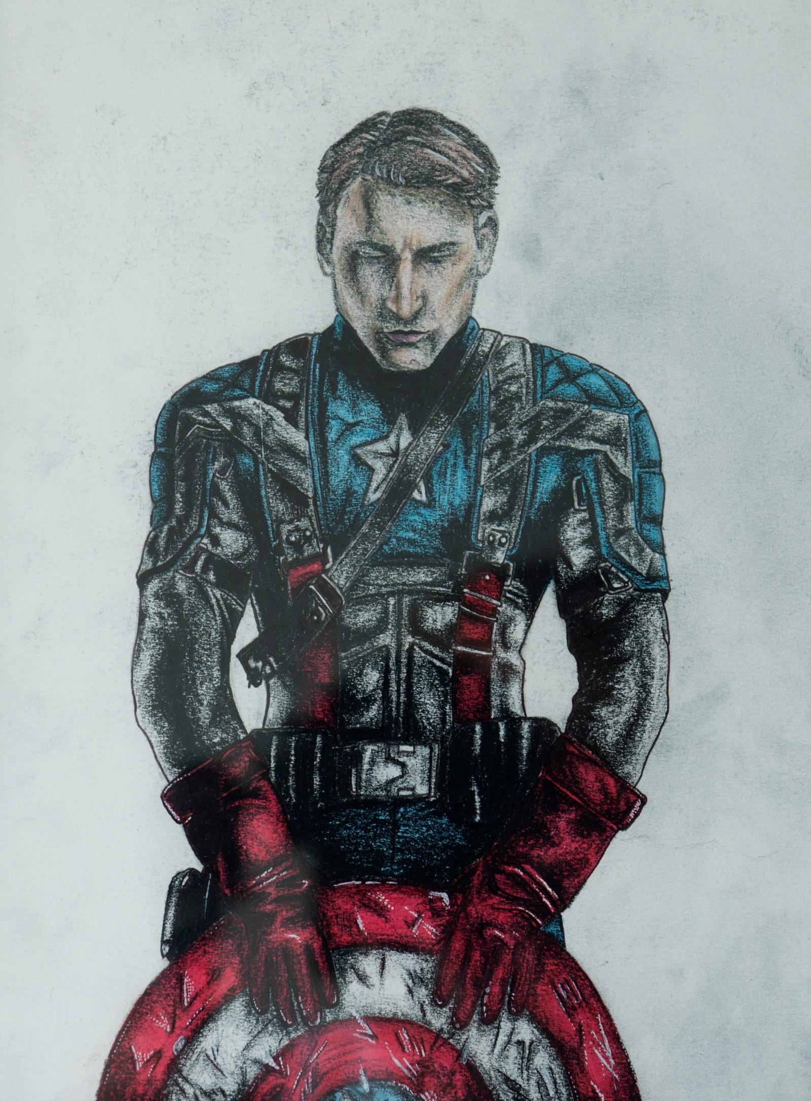 Captain America - Sara Strandheim Forfod, Høyanger