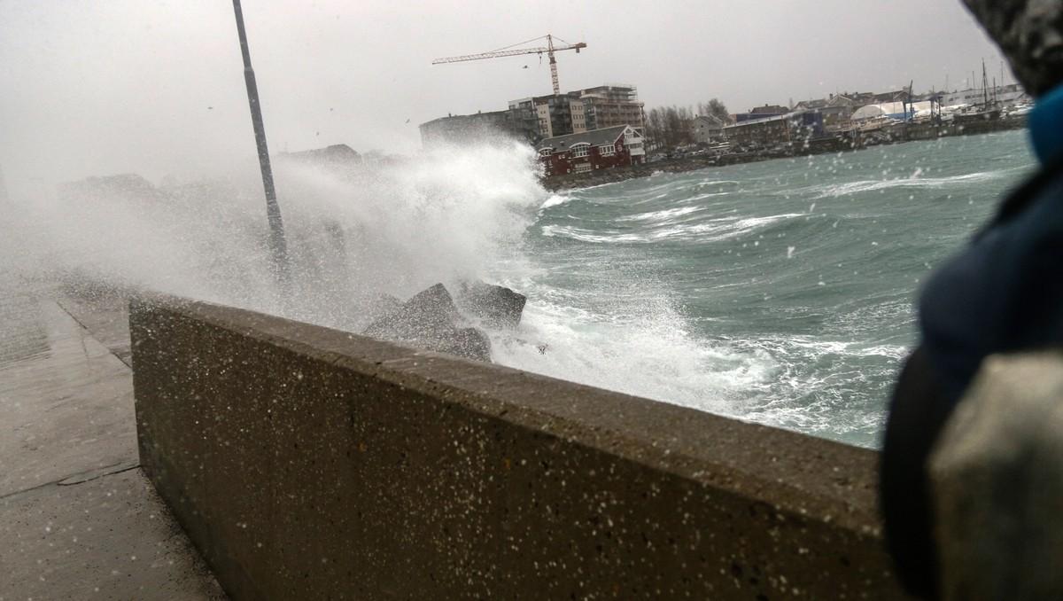 Kyrre slår inn over Bodø