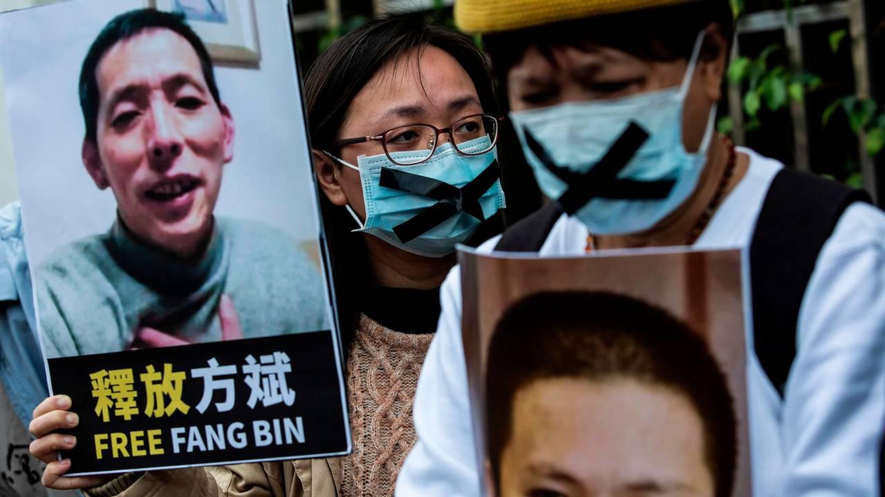 Fang Bin ble pågrepet etter å ha rapportert fra Wuhan, og er fortsatt savnet.