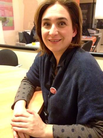 Ada Colau er leder av PAH