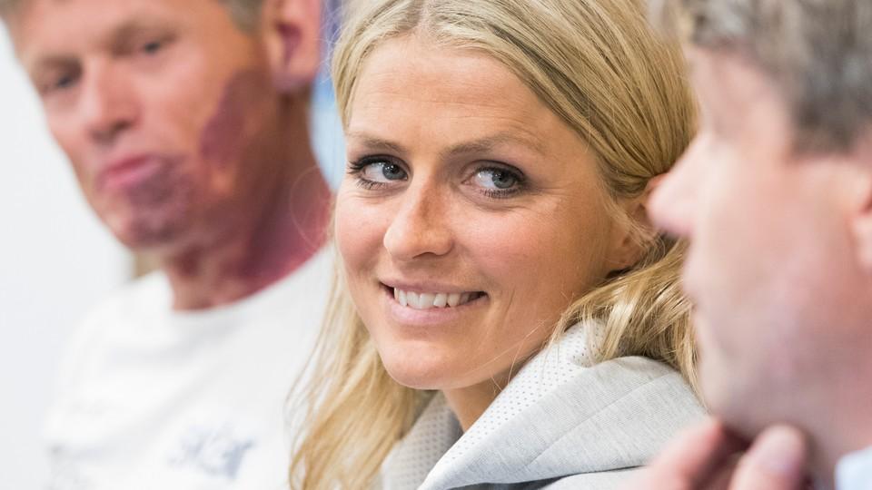 Nyheter: I dag · Pressekonferanse - Therese Johaug