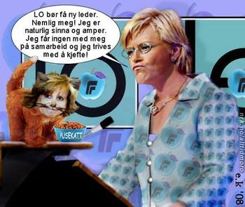 LO-leder Siv Jensen