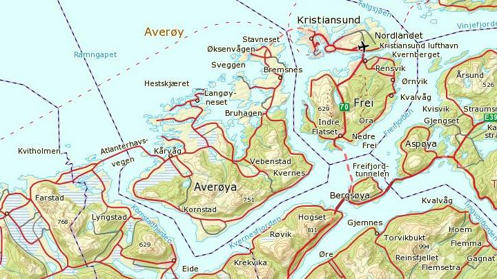 Truga To Personar Med Kniv Pa Averoy Nrk More Og Romsdal