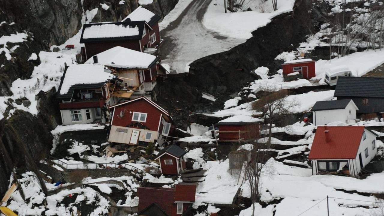 Raset i Kattmarka i Namsos