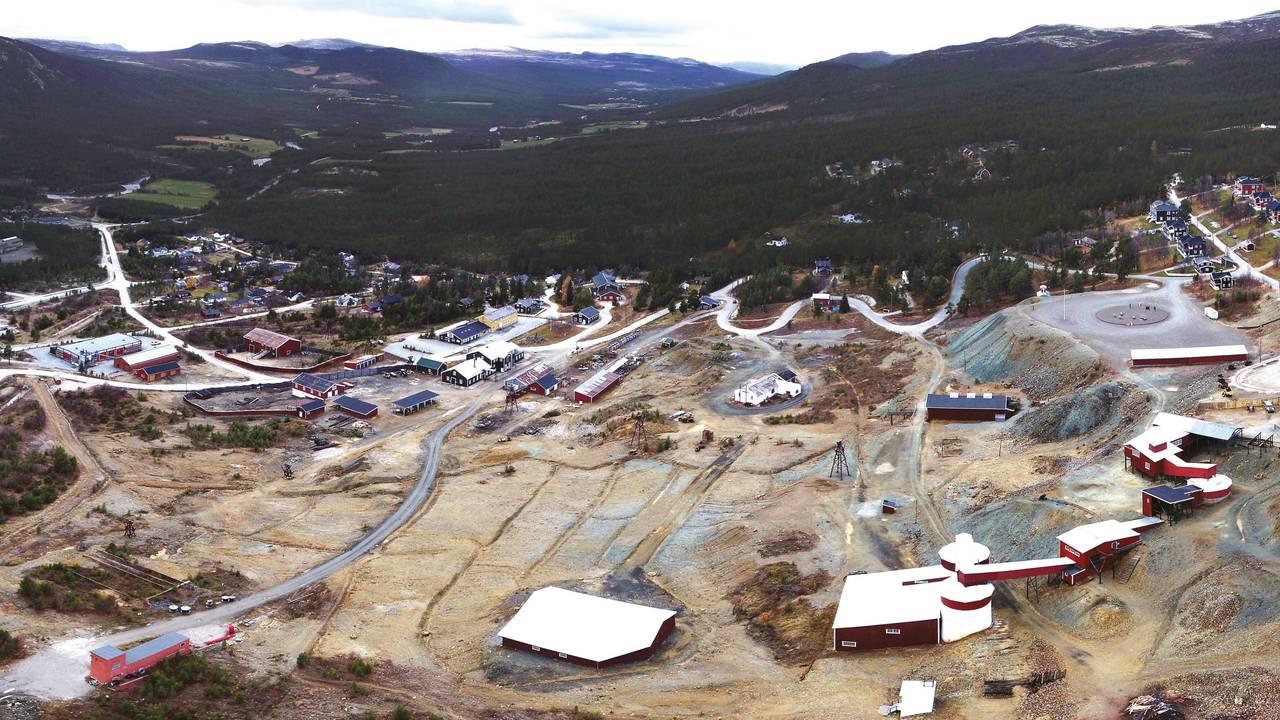 Forurenset område ved Folldal gruver