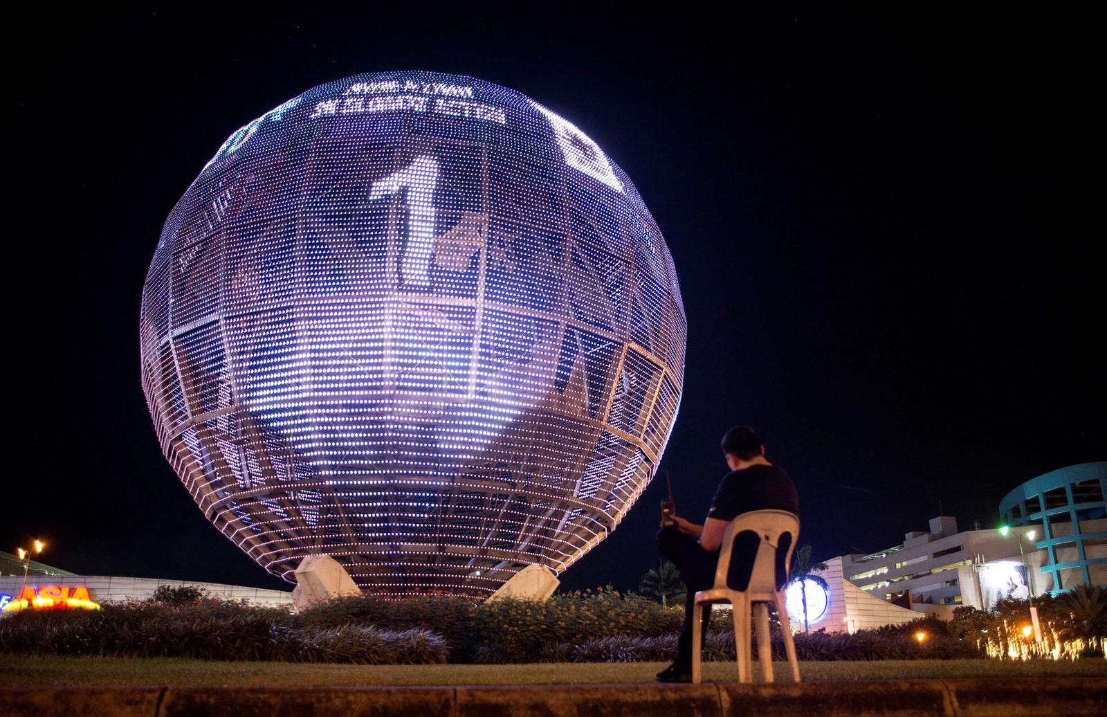 Globusen i Manila.