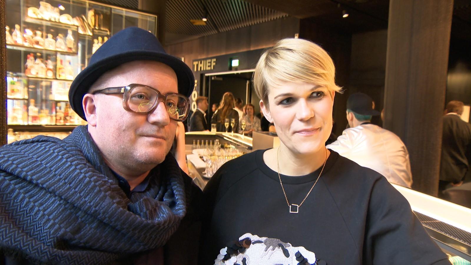 Per Sundnes og Sigrid Bonde Tusvik på Oslo Treasure.