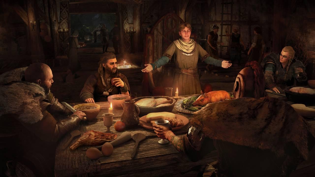 Skjermbilde fra spillet «Assassin's Creed Valhalla».