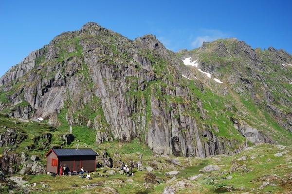 Trollfjordhytta - Foto: Bjørn Eide