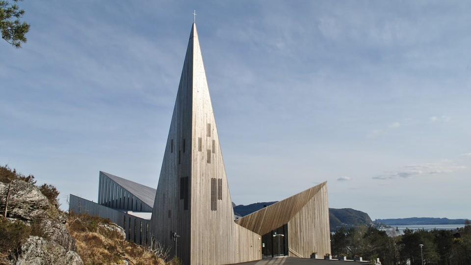 Gudstjeneste fra Knarvik kyrkje