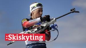 V-cup skiskyting: Fellesstart, kvinner