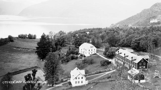 Kroken på 1930-talet. Foto: K.K., Bergen. © Fylkesarkivet.