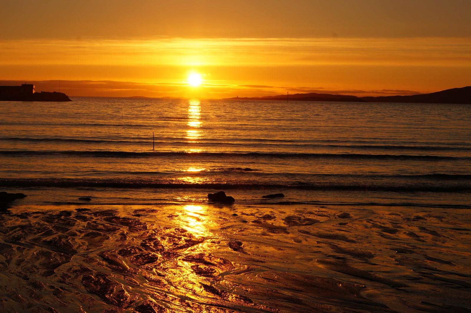 Solnedgang ved Løp Olaus