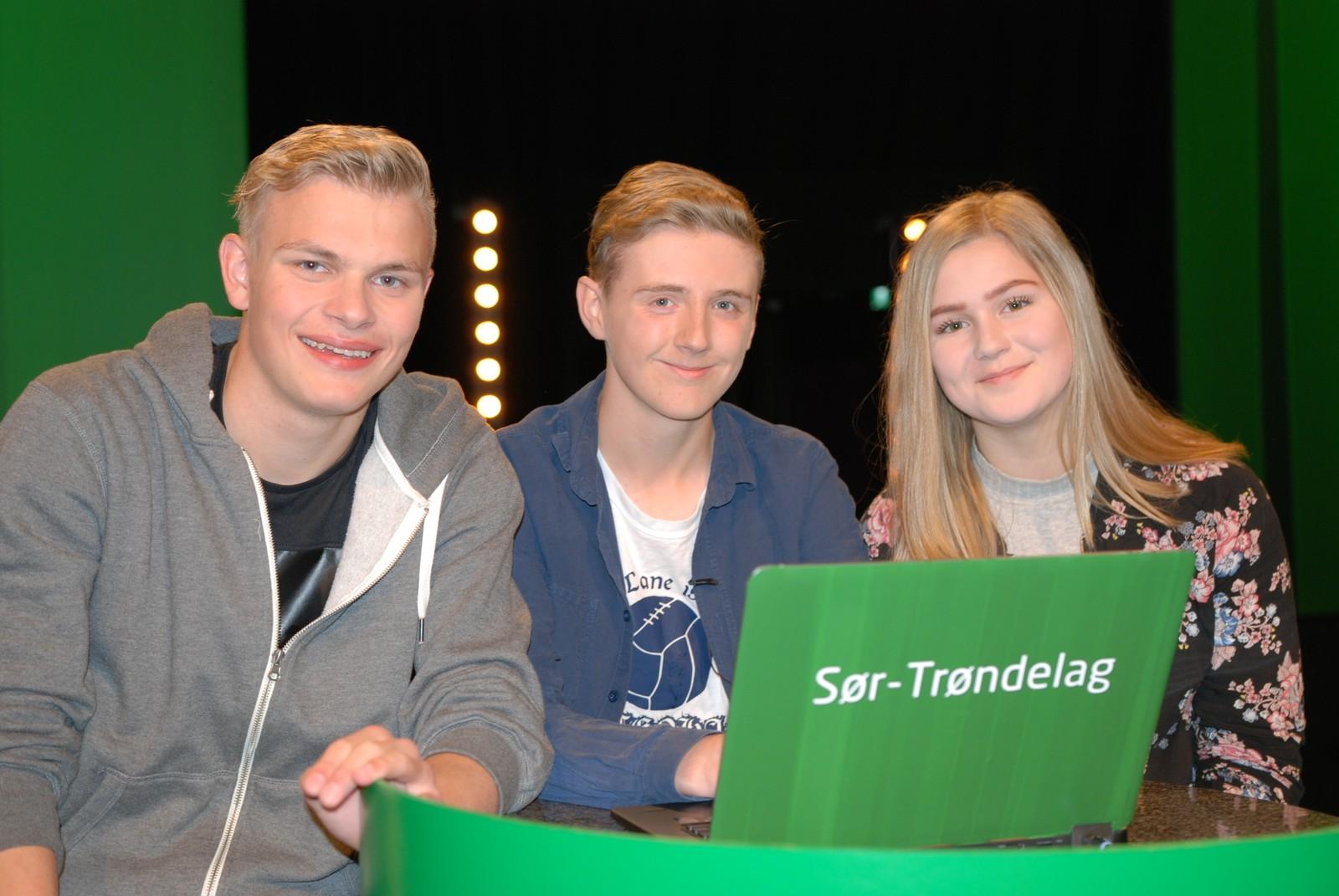 SØR-TRØNDELAG: Krokstadøra oppvekstsenter i Snillfjord kommune representert ved Nils Forren, John Kristian Kjøren og Ellen Snildalsli.