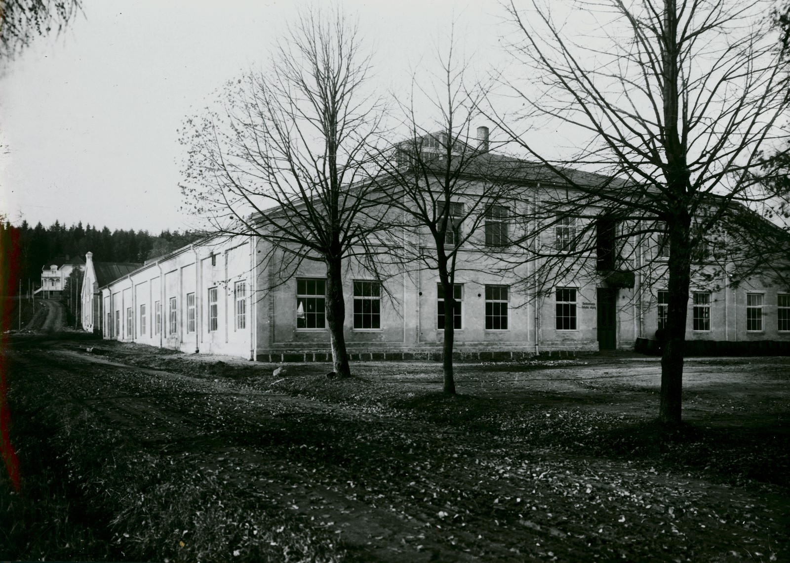 Bygning mur 1911-1