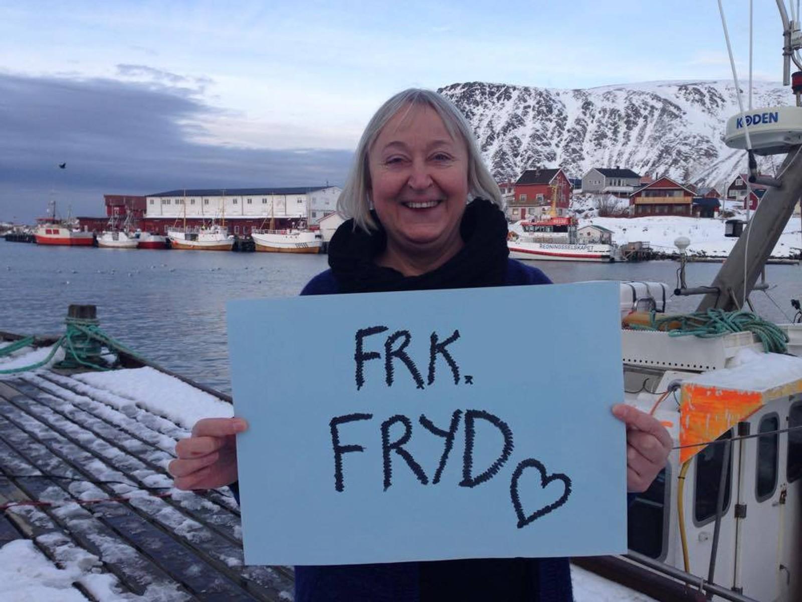 Ordfører, Eva Danielsen Husby, Hasvik Kommune.