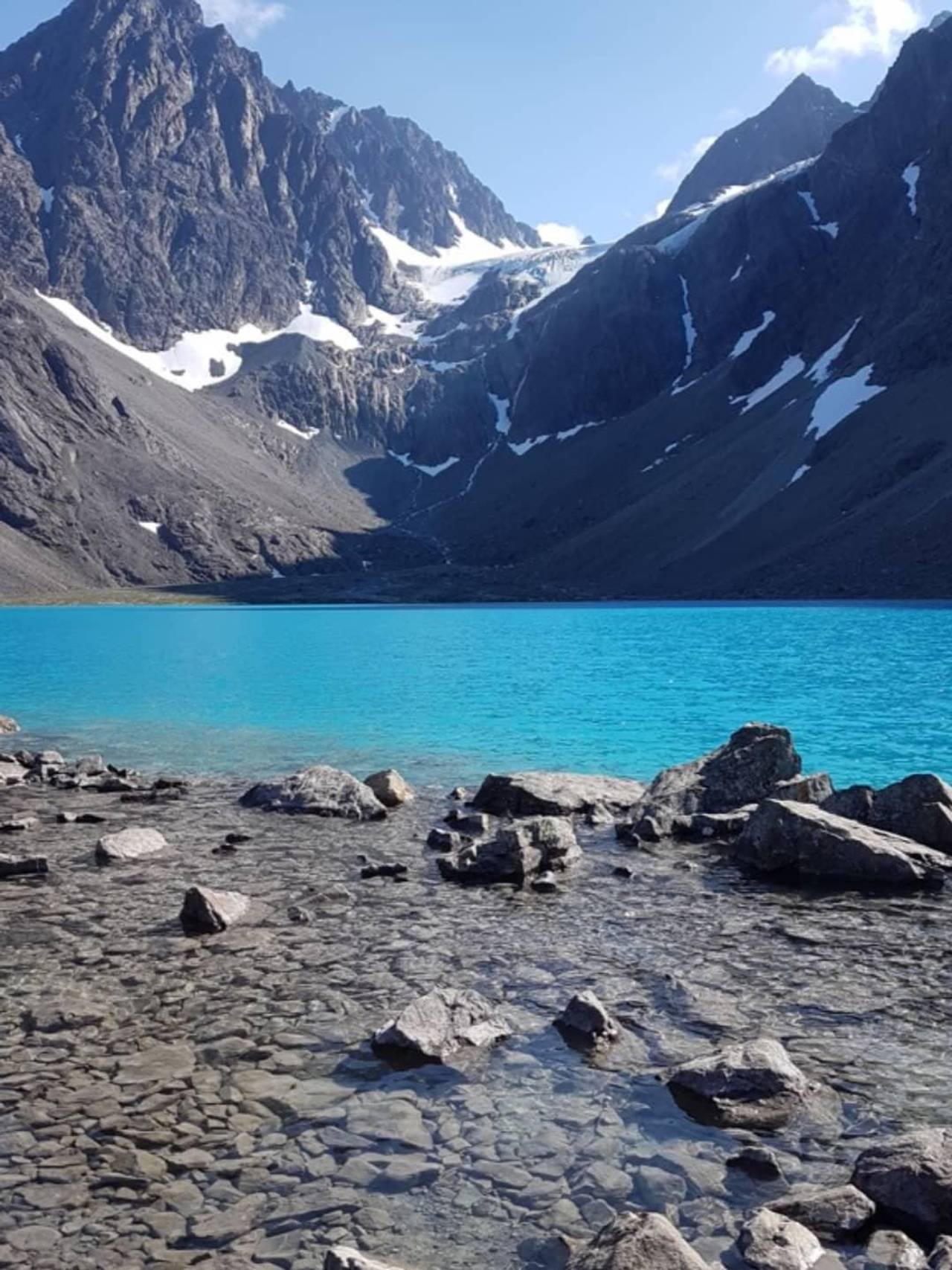 Blåisvatnet, Lyngen