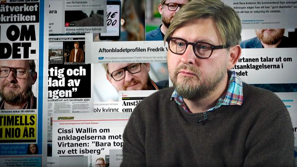 #metoo og Fredrik Virtanen