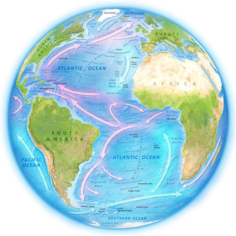 атлантический океан фото на карте скорый активен социальных
