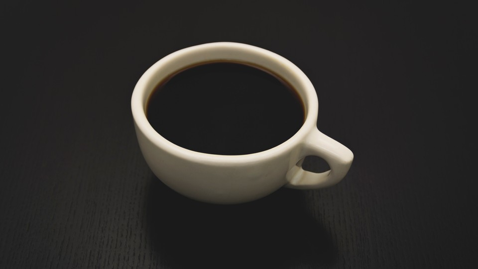En siste kopp kaffe