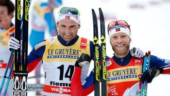 Niklas Dyrhaug og Martin Johnsrud Sundby