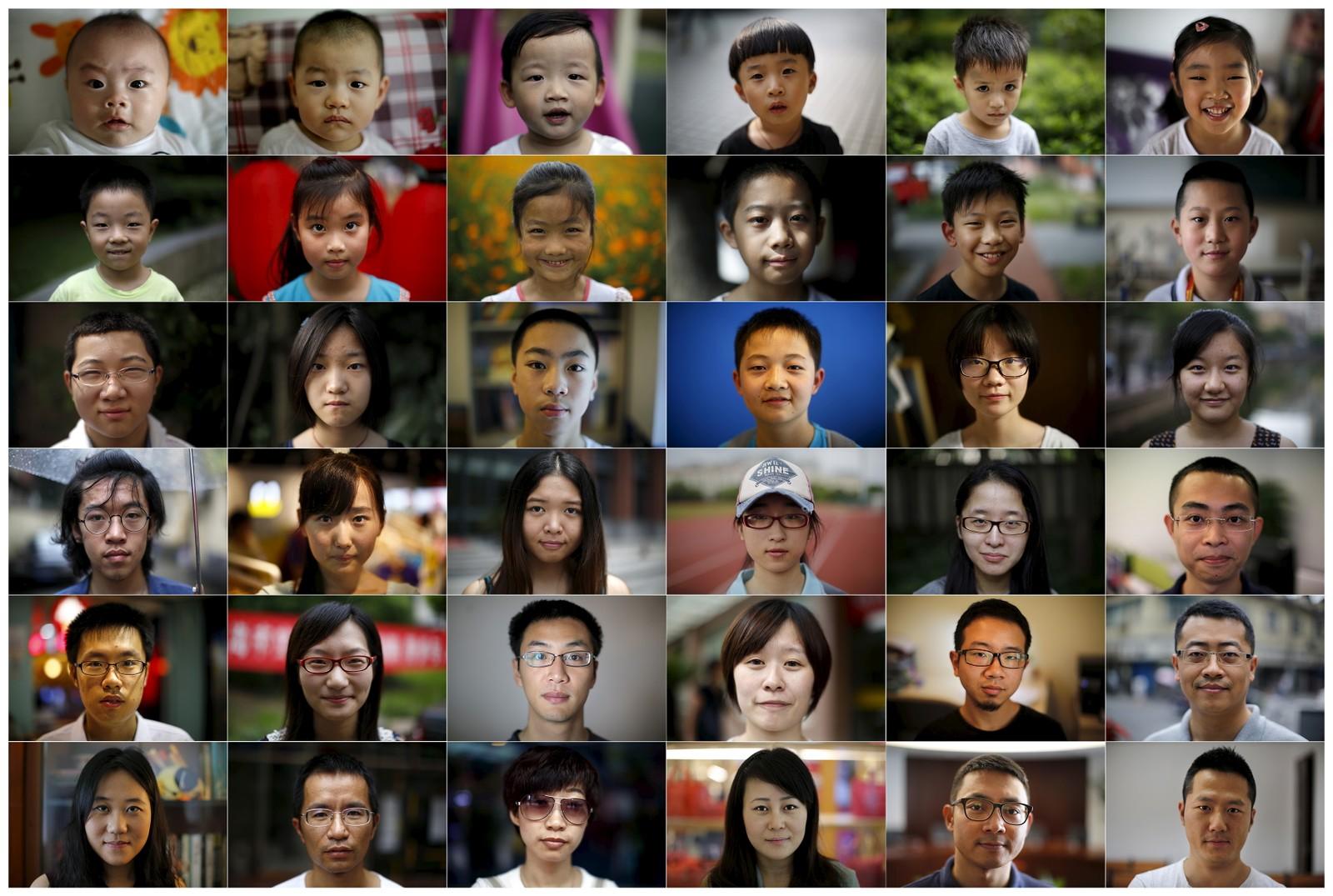 Kinas ett-barns-politikk i bilder: ett barn per år i de 38 årene det var ulovlig å få mer enn ett barn.