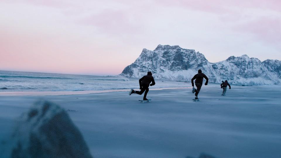 På tynn is