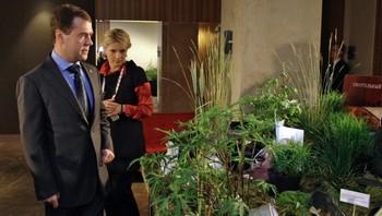 President Dmitrij Medvedev