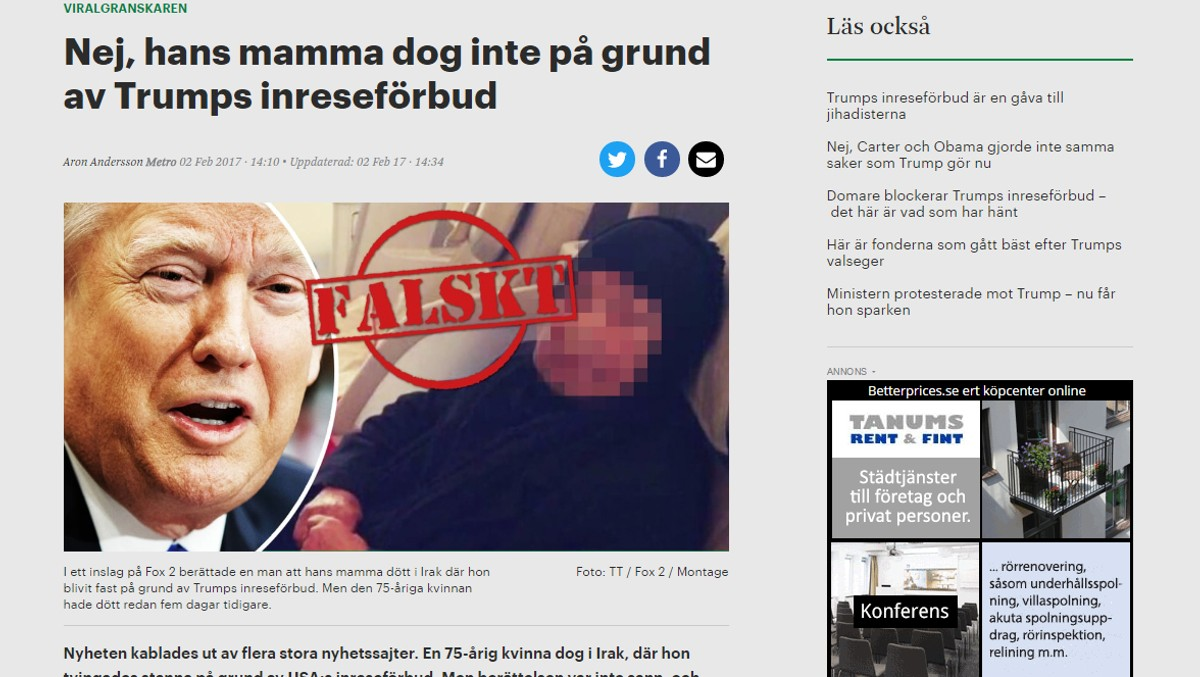 Falske Nyheter Kan Komme Pa Timeplanen Nrk Rogaland Lokale Nyheter Tv Og Radio