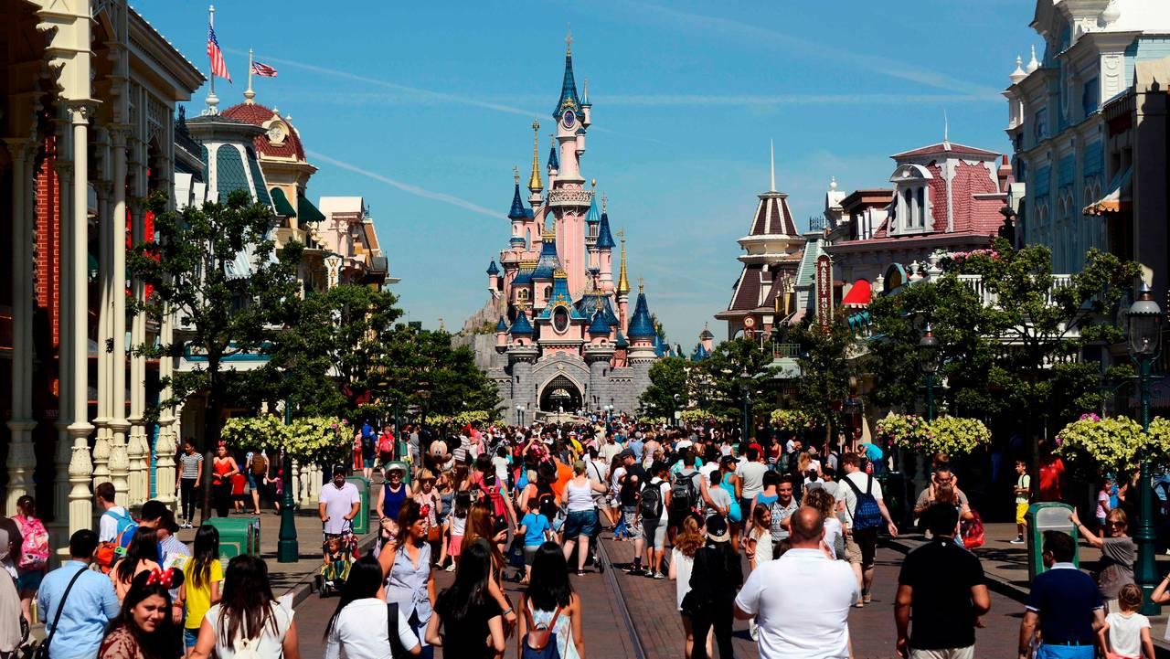 Disneyland, Frankrike, Paris. Før
