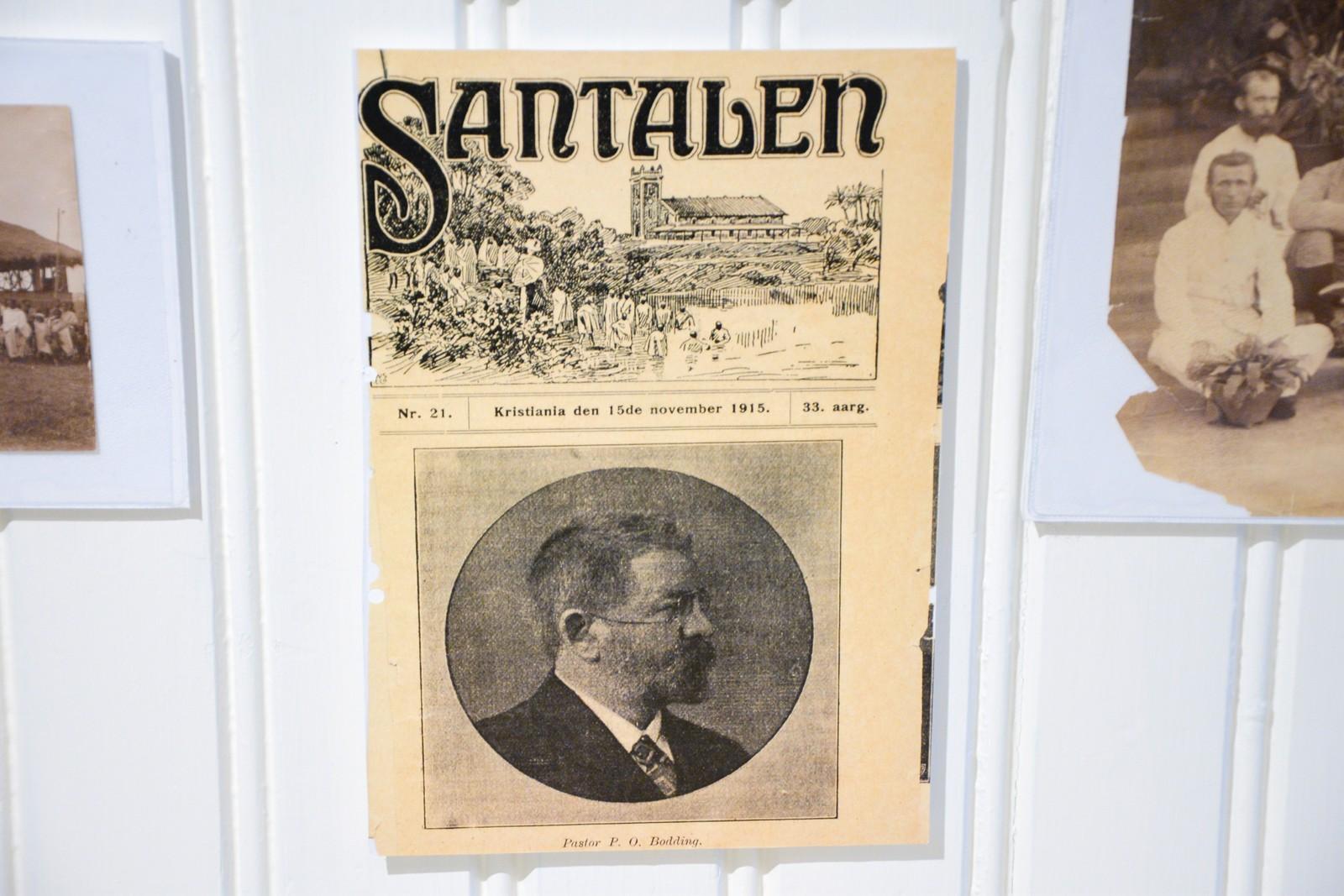 Et medlemsblad for Santalen som kom ut i Christiania 1915.