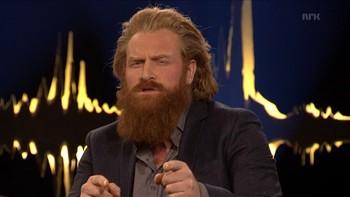 Norske Kristofer Hivju er klar for rollen som Becks nye makker. Men da han prøvde å snakke svensk, ble det for mye for regissøren.