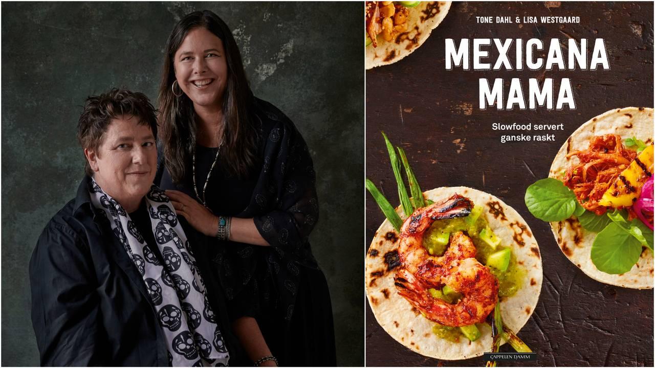 Tone Dahl og Lisa Westgaard har laget kokeboken