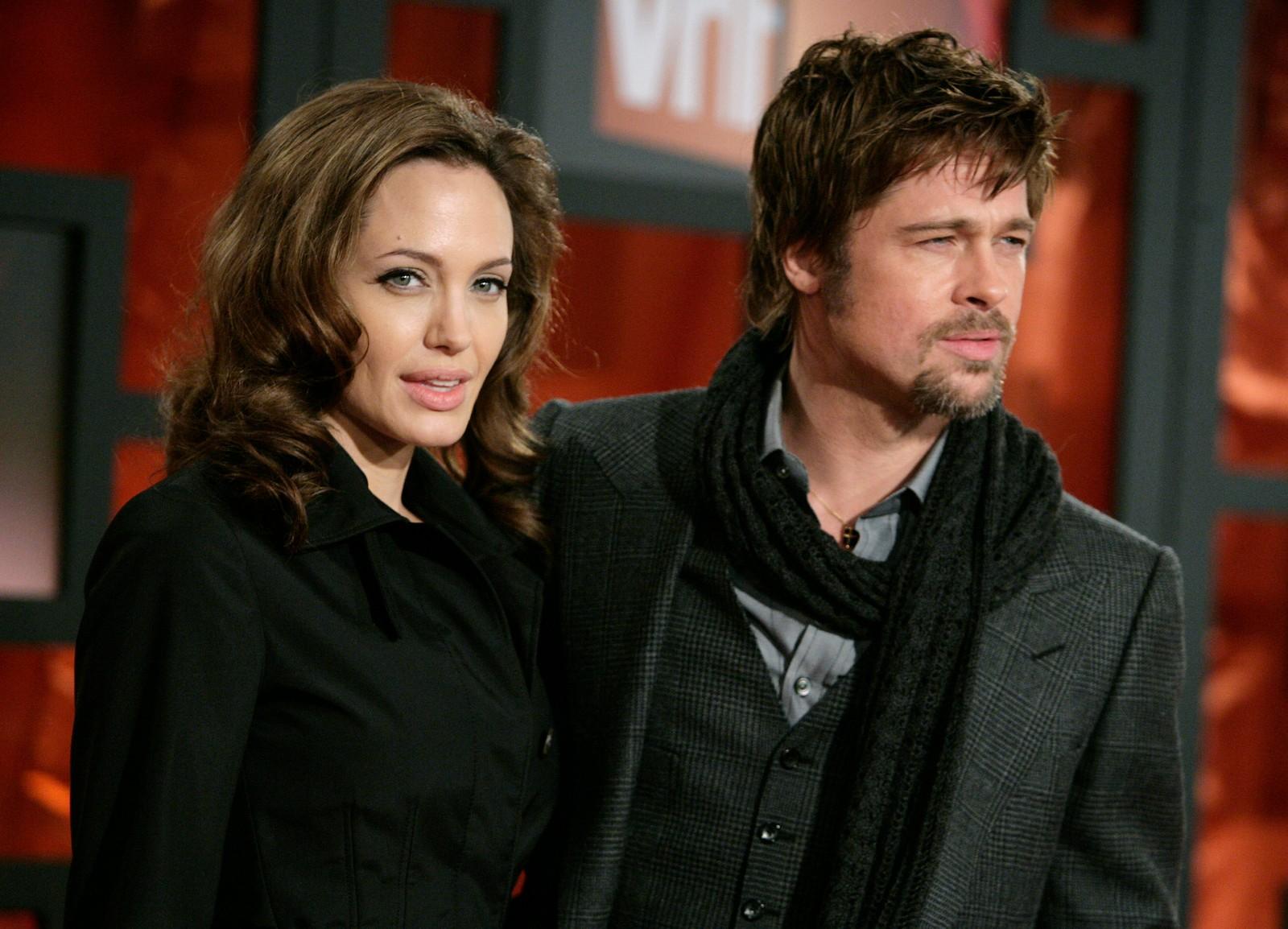 Pitt og Jolie på Critic's Choice Awards i 2008.