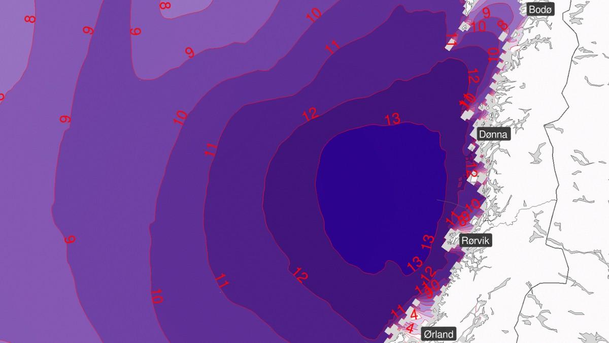 Bakgrunnen for det urolige været er et kraftig lavttrykk fra Atlanterhavet som beveger seg inn mot Norge og vil berøre store deler av landet.