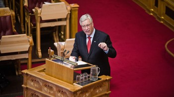 Video Sigbjørn Johnsen i Stortinget