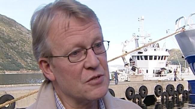 Kåre Furnes - mangeårig leiar i Sogn og Fjordane Rederiforening. Foto: NRK.