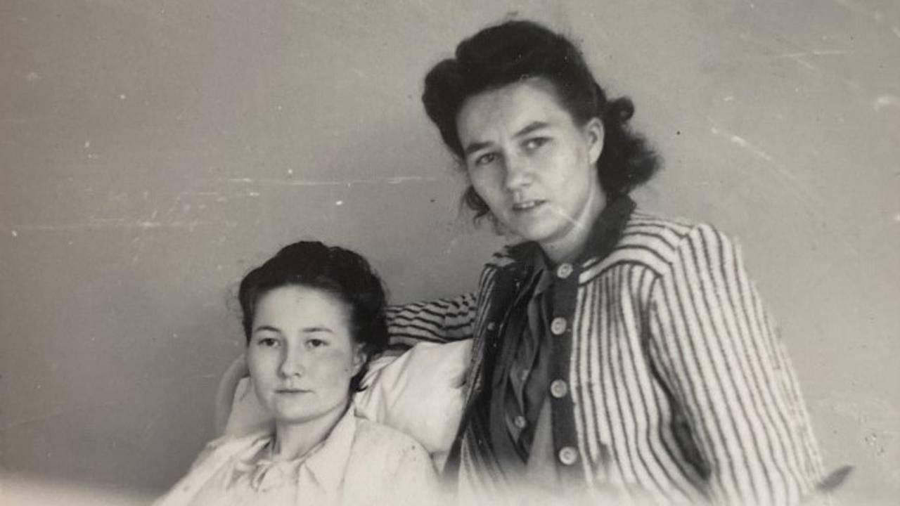 Søstrene Ragnhild og Marie Ravna