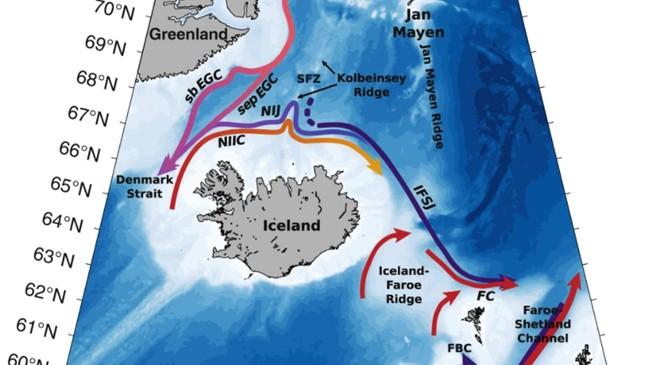 Ny studie har sett på havstrømmer.
