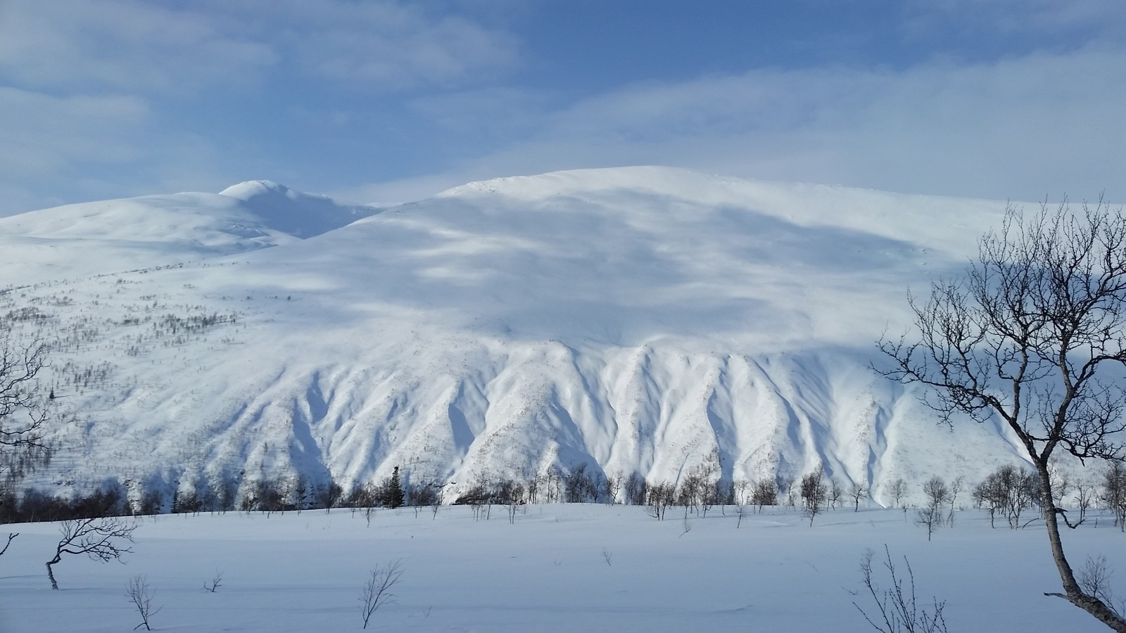 Isbrudalene i Tespdalen.