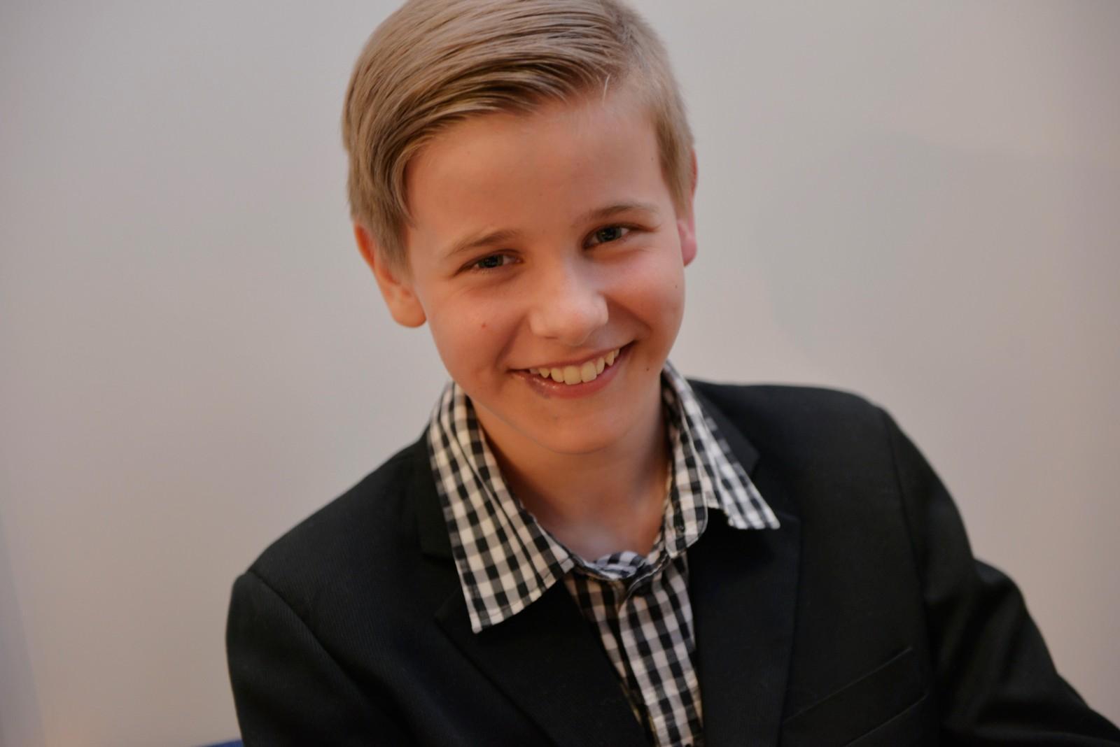 Bjørnar Oppedal frå Gulen spelte piano på UKM