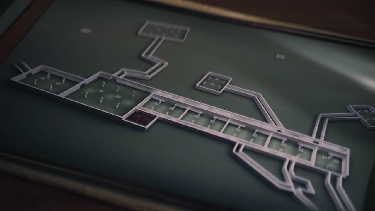 Tegninger av en fabrikk