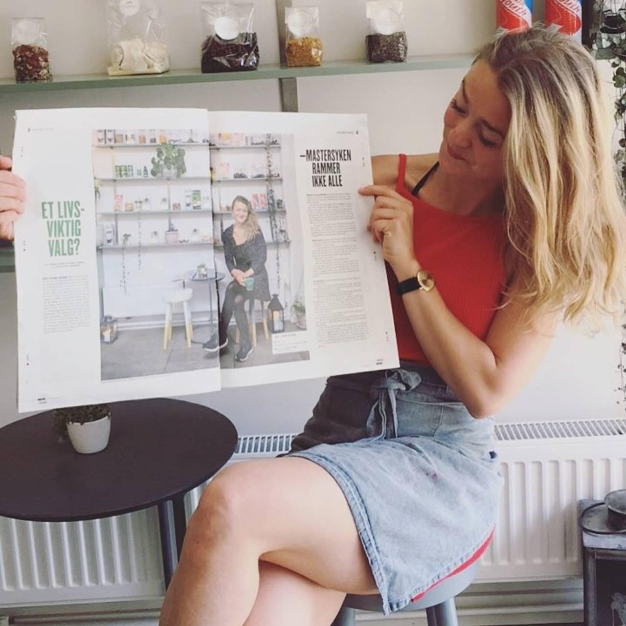 Tiril i avisen