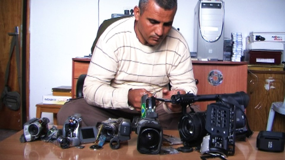 5 knuste kameraer