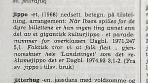 Kort om språk: 25. januar 1984