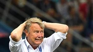Fotball - VM: Høydepunkter 8-delsfinaler Spania - Russland og Kroatia - Danmark