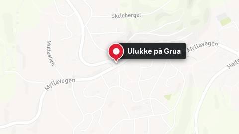 Mann død i utforkøyring på Grua
