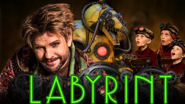I Daidalos sin undersjøiske Labyrint venter spennende oppgaver, skumle robotskapninger og slim.